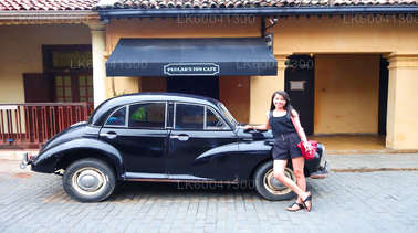 Galle City and Countryside Tour in a Classic Car