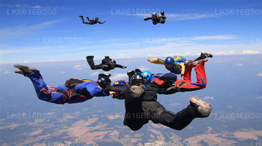 Sky Diving from Koggala