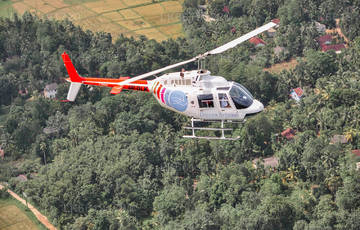 Helicopter Tours from Sigiriya